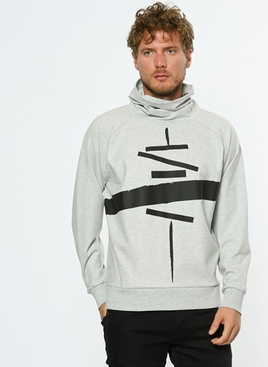Hyperfolk Polar Sweatshirt Gri